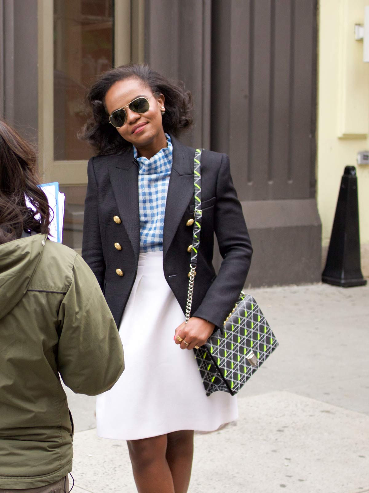 Fashion in a new york minute