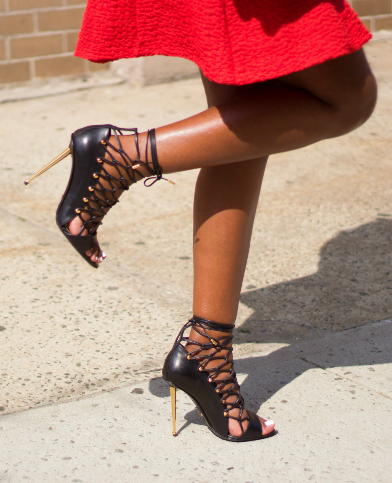 Tom Ford Lace Up Heels - Is Heel