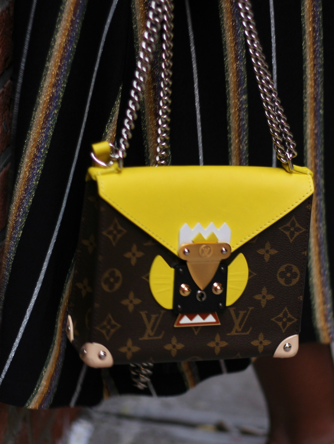 Louis Vuitton mask bag